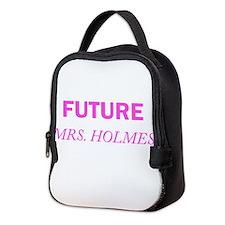 Future Mrs. Holmes Neoprene Lunch Bag