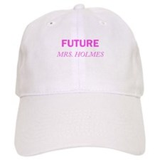 Future Mrs. Holmes Baseball Baseball Cap