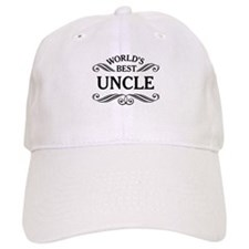 World's Best Uncle Baseball Baseball Cap