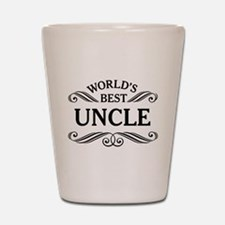 World's Best Uncle Shot Glass