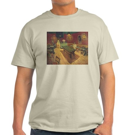 Night Cafe Van Gogh Art Light T-Shirt