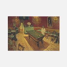 Night Cafe Van Gogh Art Rectangle Magnet