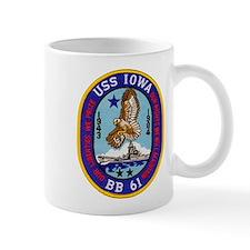 USS IOWA Small Mug