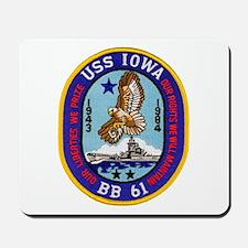 USS IOWA Mousepad