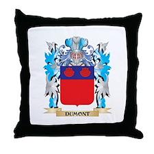 Funny Dumont Throw Pillow