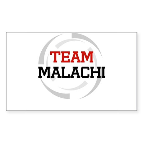Malachi Rectangle Sticker