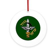 Caracal Battalion #33 Ornament (Round)