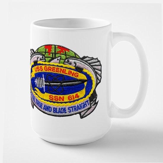USS GREENLING Mugs