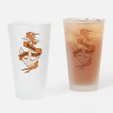 Honor Thru Truth Drinking Glass