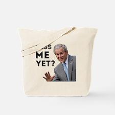 Miss Me Yet? Anti Obama Tote Bag