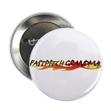 Fastpitch Grandma Button
