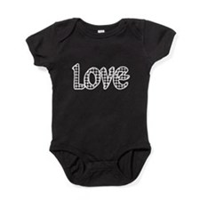 Houndstooth Love Baby Bodysuit