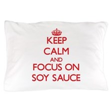 Cute Soy sauce Pillow Case