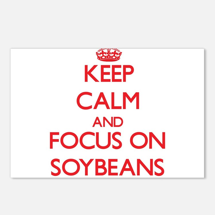 Cute Soybeans Postcards (Package of 8)
