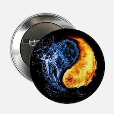 """Elemental Yin Yang 2.25"""" Button (10 pack)"""