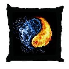 Elemental Yin Yang Throw Pillow