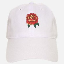 Red Rose Baseball Baseball Baseball Cap