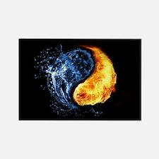 Elemental Yin Yang Magnets