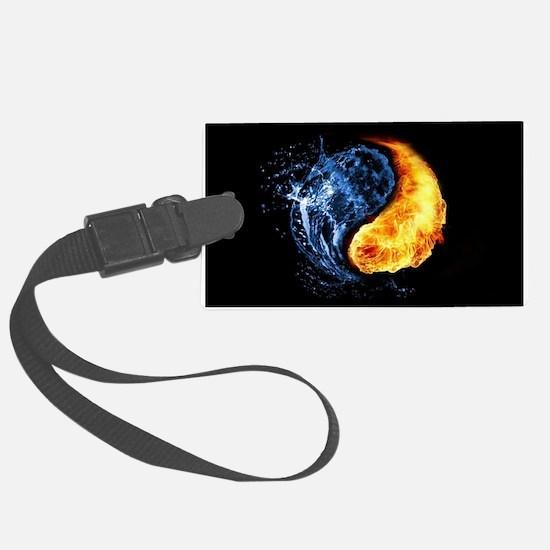 Elemental Yin Yang Luggage Tag