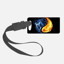Elemental Yin Yang Luggage Tag