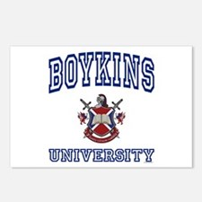 BOYKINS University Postcards (Package of 8)