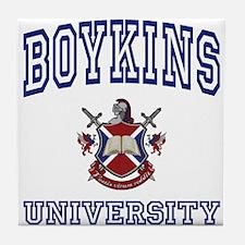 BOYKINS University Tile Coaster