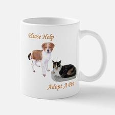 PLEASE HELP - ADOPT A PET Mug