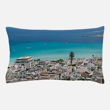 Italy, Sicily, San Vito Lo Capo, Resor Pillow Case