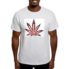 PR Weed Leaf T-Shirt