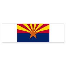 Arizona Flag Bumper Bumper Sticker
