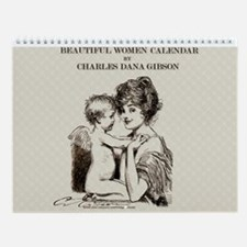 Gibson Beautiful Women 11x9 Wall Calendar