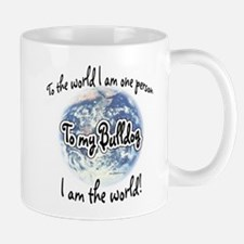 Bulldog World2 Mug