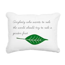 Cute Grower Rectangular Canvas Pillow