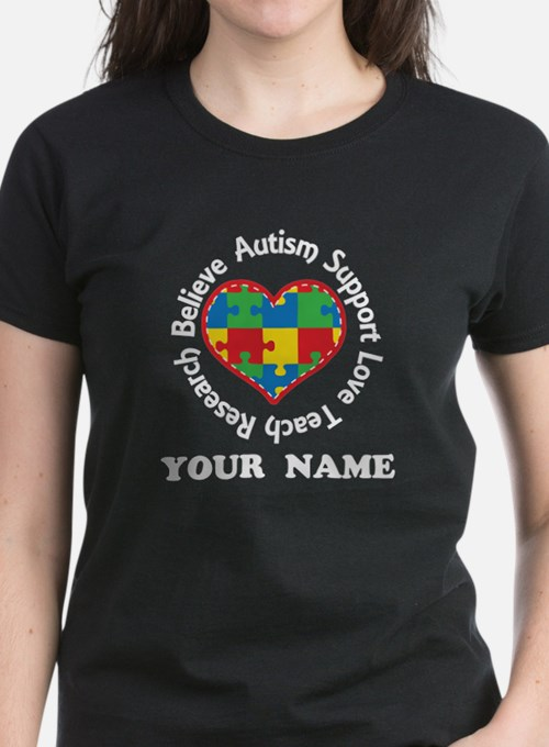 Autism Spectrum Awareness Personalized T-Shirt
