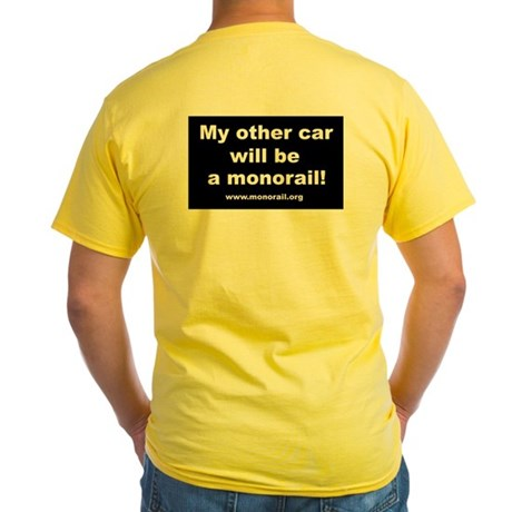 Logo/My Other Car Yellow T-Shirt