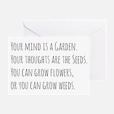 Cute Weeds Greeting Card
