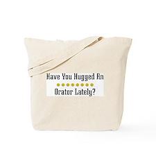 Hugged Orator Tote Bag