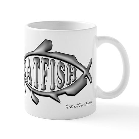 Catfish Symbol Mug