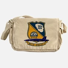 Cute Support our troops Messenger Bag