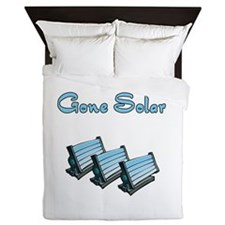 gone solar with 3 solar panels.png Queen Duvet