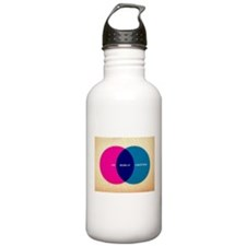 Life Begins At Conception Water Bottle