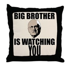 Cheney Big Brother Throw Pillow