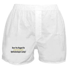 Hugged Ophthalmologist Boxer Shorts
