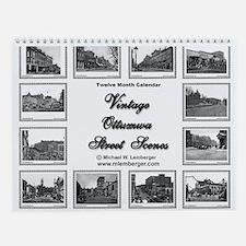 Vintage Ottumwa Streets Wall Calendar