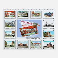 Ottumwa, Iowa Postcards Wall Calendar