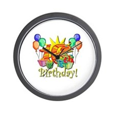 Sweet 16 Birthday Wall Clock