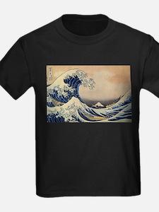 The Great Wave off Kanagawa - Hokusai - Japan T-Sh