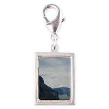 The longest & deepest fjord  Silver Portrait Charm
