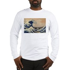 The Great Wave off Kanagawa - Hokusai - Japan Long