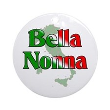 Bella Nonna Ornament (Round)